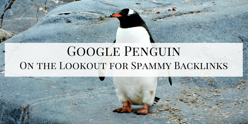 Google Penguin on the Lookout for Spammy Backlinks