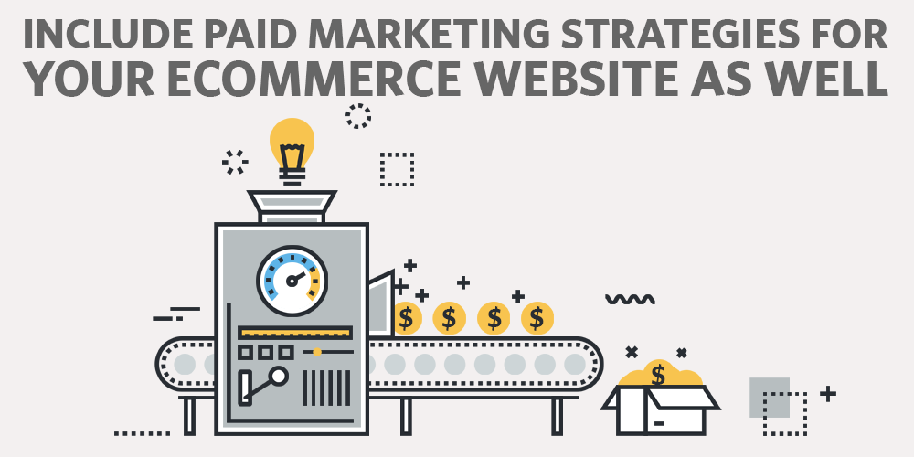 Include Paid Marketing Strategies for your Ecommerce Website as Well as Organic Methods
