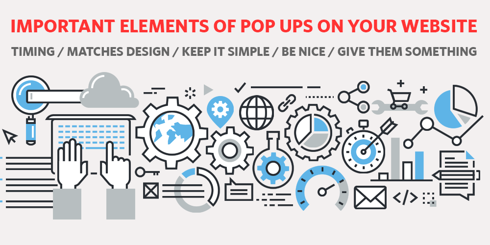 Important Elements of Pop Ups on your Website