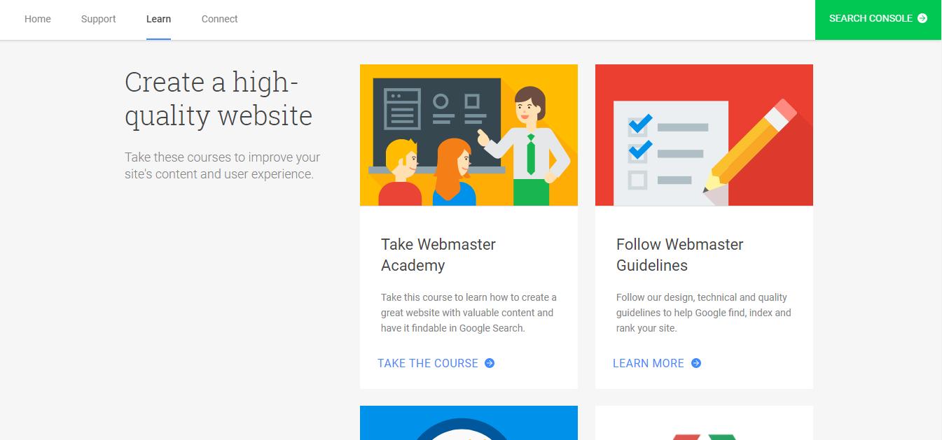 Google Webmaster Academy