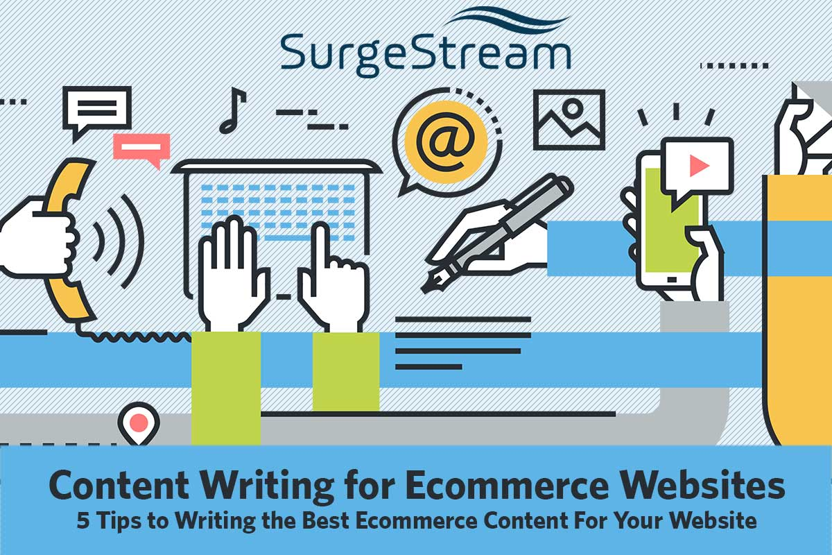 Content Writing for Ecommerce Websites