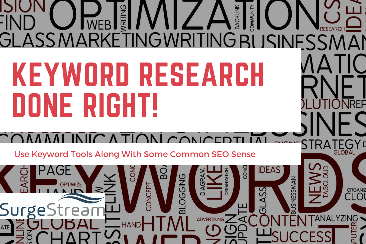 Keyword Research Done Right