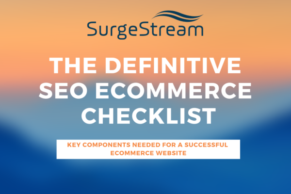 The Definitive SEO Ecommerce Checklist
